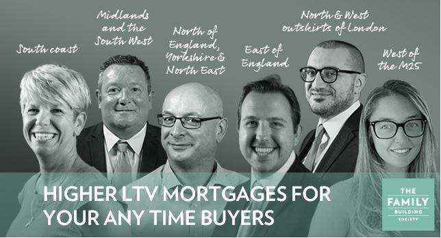 Higher LTVs for any time buyers