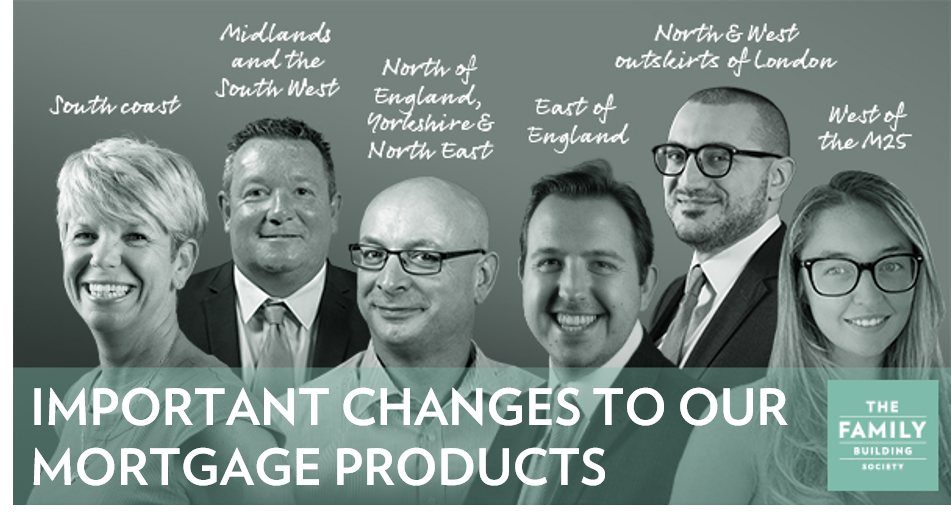 Important changes to our mortgage products