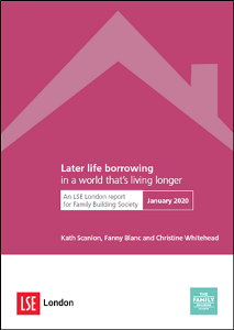 LSE remortgaging in later life - Report cover image