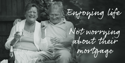 Enjoying life, not worrying about their mortgage